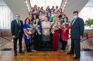 Житомирщина: Своим примером утверждают ценности большой семьи