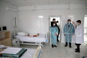 Луганщина: У лікарнях провели реконструкцію