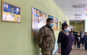 Луганщина: Діти дізналися про подвиг земляка