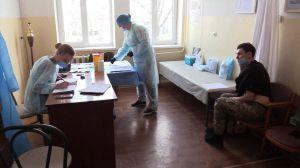 Мариуполь: В районе ООС проводится  вакцинация военнослужащих