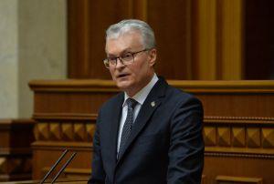 Президент Литовської Республіки Гітанас Науседа: «Не сумніваємося, що міцній Україні місце в міцній Європі»