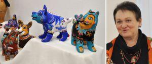 Черкаси: «Вербове колесо» унікальної майстрині котять її диво-звірі