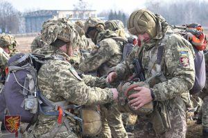 Підрозділи 95-ї окремої десантно-штурмової бригади ЗС України