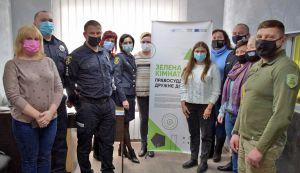 Донеччина: У прифронтовій Авдіївці відкрили «зелену кімнату»