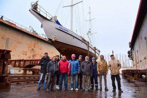 Миколаїв: Уславлений вітрильник зайшов в «Океан»