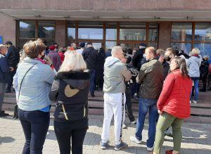 В Ивано-Франковске предприниматели промрынков отстаивают право на труд