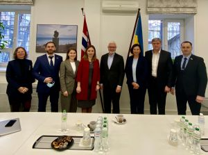 Про що говорили на зустрічі з послом Норвегії