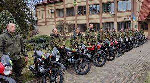 Ривненщина: Лучшие лесоводы уже с мотоциклами