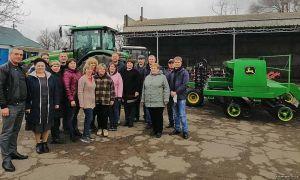 На Николаевщине будущие аграрии получили современную технику