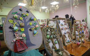 В Житомире расцвело писанками древо жизни
