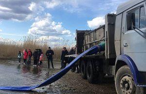 Миколаївщина: У річці побільшало риби