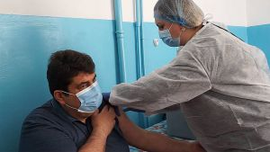 Житомирщина: Получили прививку дозами Pfizer