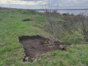 В Николаевской области очередной раскоп от «черных» археологов
