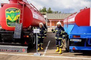 Житомирщина: Слаженность действий в тушении лесных пожаров