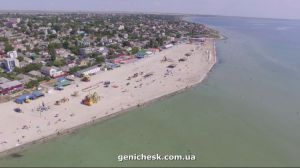 На Херсонщине принарядили азовские пляжи