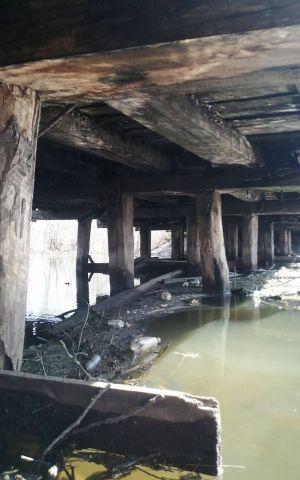 На Житомирщине громада просит помочь с ремонтом моста
