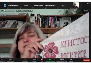 В Полтавской библиотеке устроили этновечинку онлайн