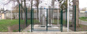 В Житомире на территории больницы установили резервуар для жидкого кислорода