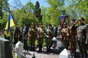 В 101-ю годовщину освобождения Киева от большевиков прогремел салют