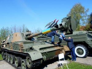 Волинь: На танках грають діти