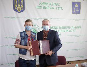 Сумской национальный аграрный университет поддерживает бойцов