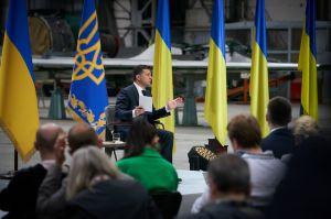 Zwei Jahre an der Macht. Pressekonferenz von Volodymyr Zelenskyy