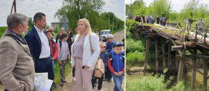 На Львовщине аварийный мост через Днестр может обрушиться