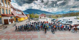 Самый высокогорный велопробег собрал почти три сотни участников на Прикарпатье