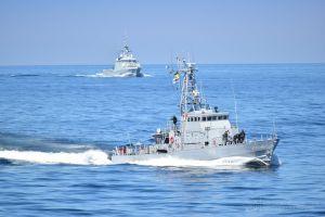 ВМС Украины и Великобритании  провели совместную тренировку типа «PASSEX»