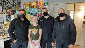 Донетчина: Спасатели побывали у дочери погибшего пиротехника