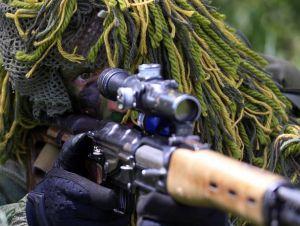 Самая большая угроза на фронте — вражеские снайперы