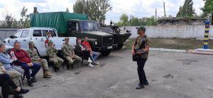 «С.К.А.Й.» посетил пограничников на Луганщине