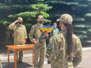 Луганщина: овобранцы-пограничники принесли присягу