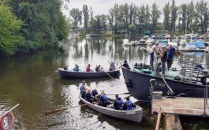 Полтавщина: Дитяча флотилія рушила у похід