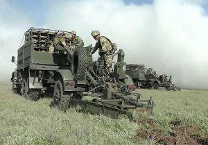 Прошли тренировки военных инженеров