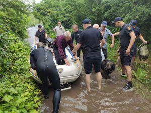 Донетчина: Вблизи Мариуполя вода перелилась через дамбу