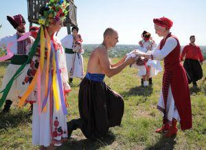 Луганщина: Фестивалили з нагоди дня народження області