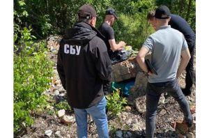 Ривненщина: Обнаружили арсенал оружия
