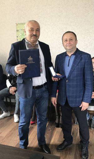 Ривненщина: Старосельскому голове вручили Грамоту Верховной Рады Украины