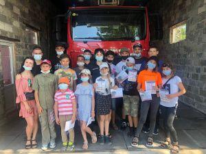 Донетчина: В Мариуполе малышей знакомили с профессией спасателя