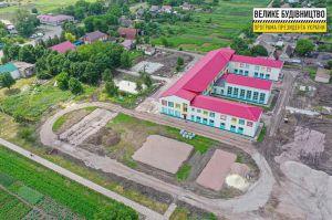 Дніпропетровщина: Обновляют стадион сельской школы