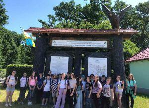 Закарпатье: Лесоводы содействуют ученикам в познании окружающей среды