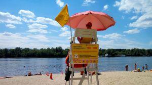 Не на всіх пляжах Києва можна купатися