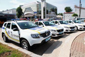 В Полтаве встретили праздник с современными автомобилями