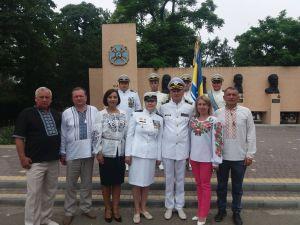 Шефы приехали на торжества  по случаю Дня ВМС