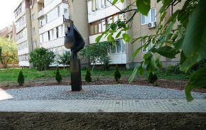 В Ужгороде обновили «Разорванный лист жизни»