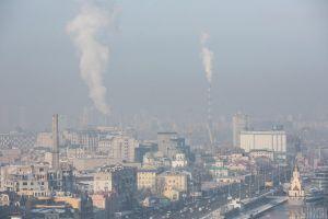 Київ: Дихати стає дедалі складніше