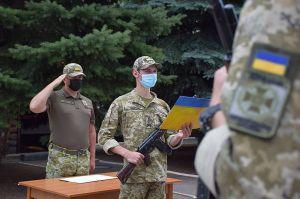 Луганщина: Новобранці присягнули на вірність народу