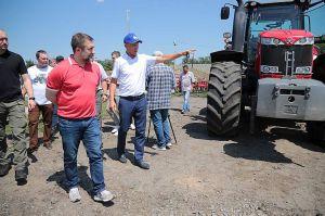 В агропредприятиях Луганщины началась жатва