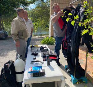 Житомирщина: Станція отримала водолазне спорядження